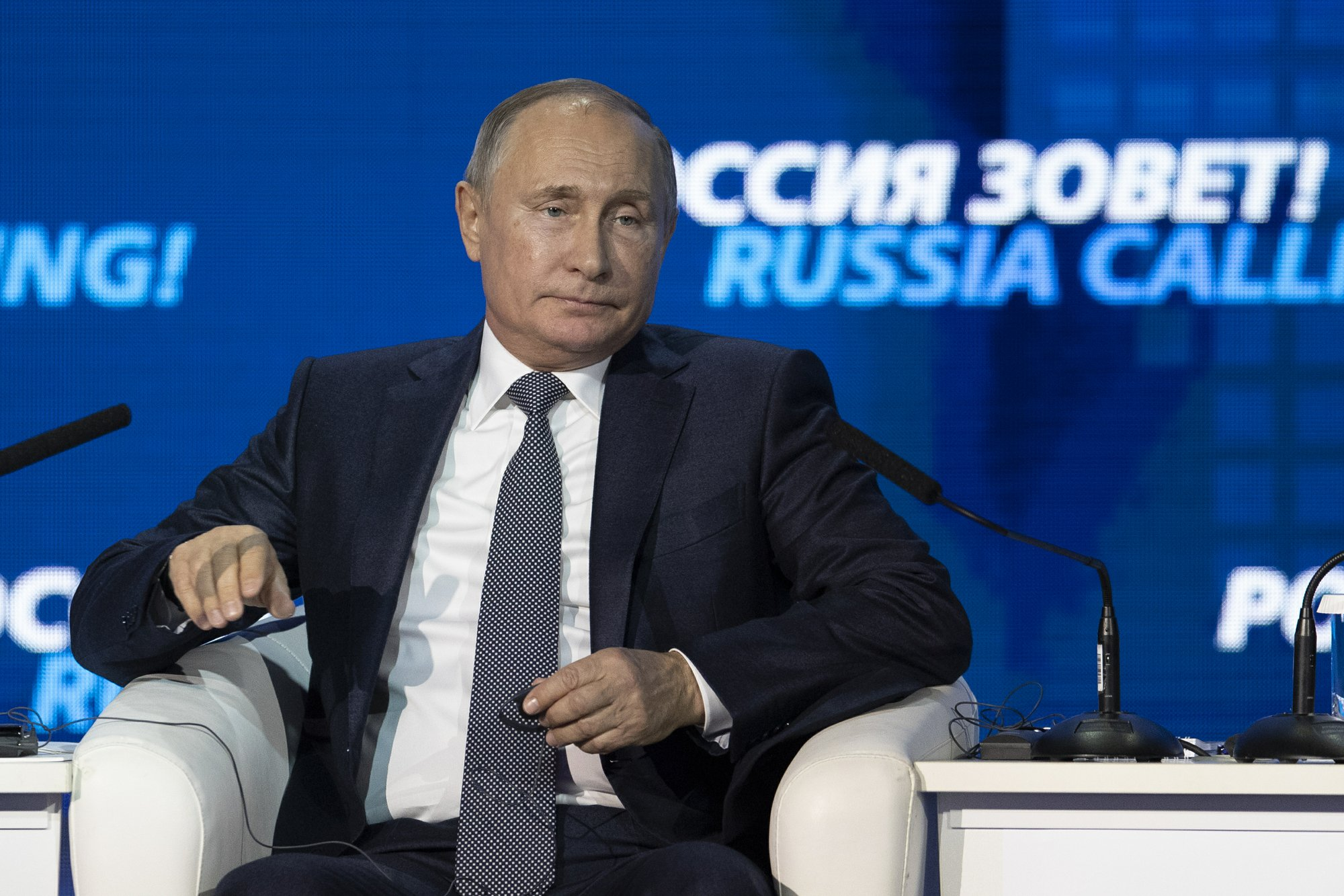 President Putin says Russia reducing dependents on US dollar