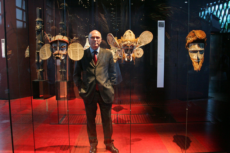 French museum chief hits back at call to return African art