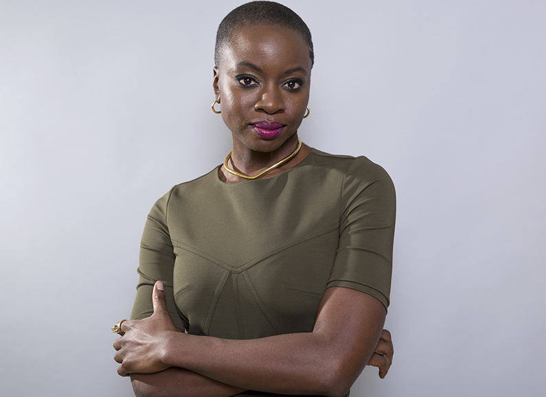 'Black Panther' star Danai Gurira wants to #MakeHIVHistory
