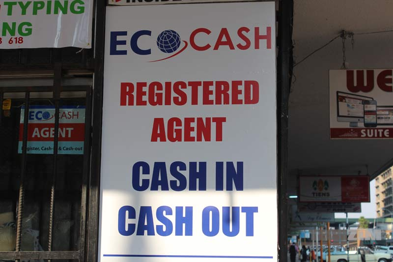 EcoCash Revenue Continues To Dwindle