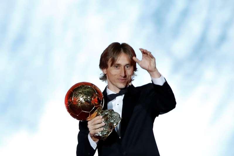 Luka Modric breaks Messi, Ronaldo Ballon d'Or dynasty