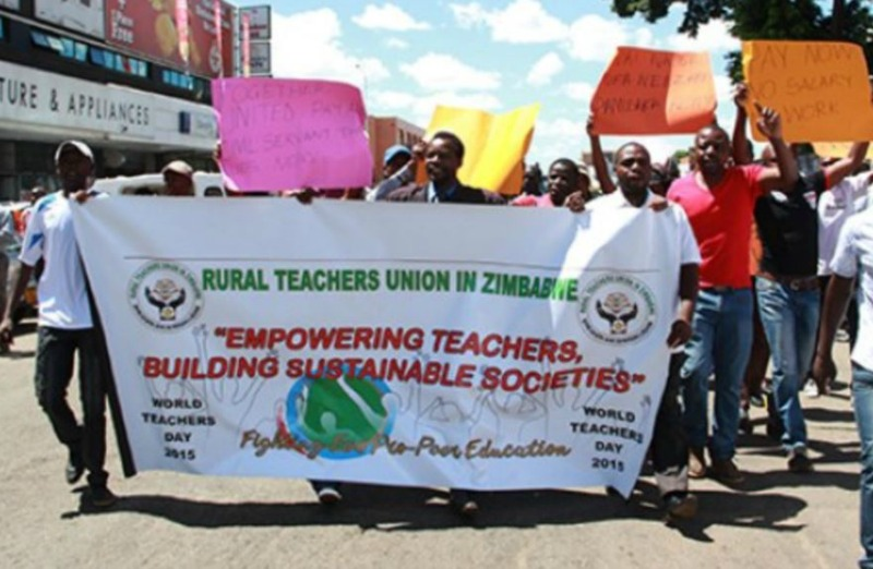 Rural teachers plan 260km march to press for US dollar wages