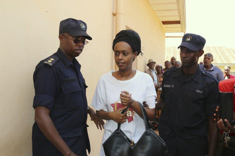 Rwandan opposition leader defiant as prison term possible
