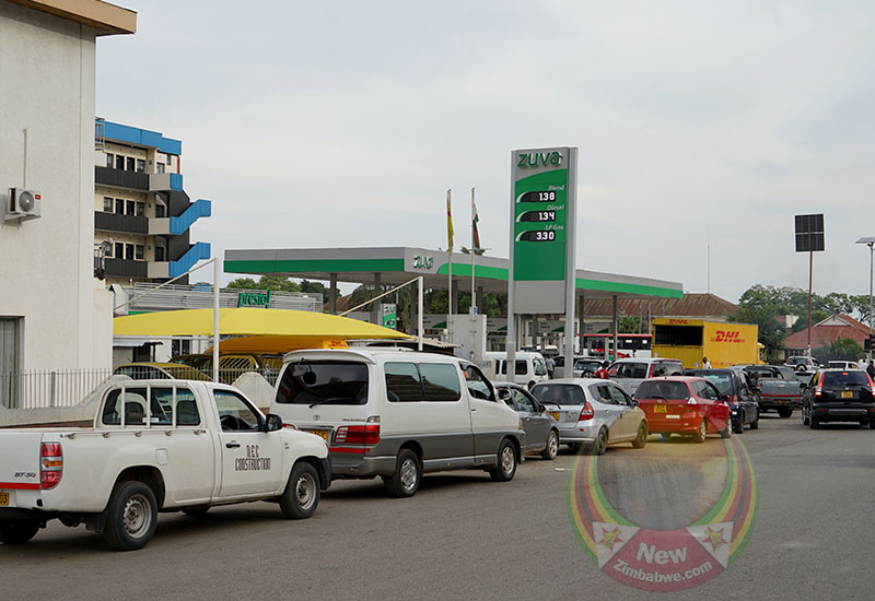 PICTURES: Queues continue as fuel shortages persist