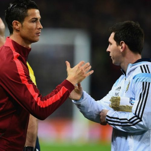 'Try something new, come to Italy,' Ronaldo urges Messi