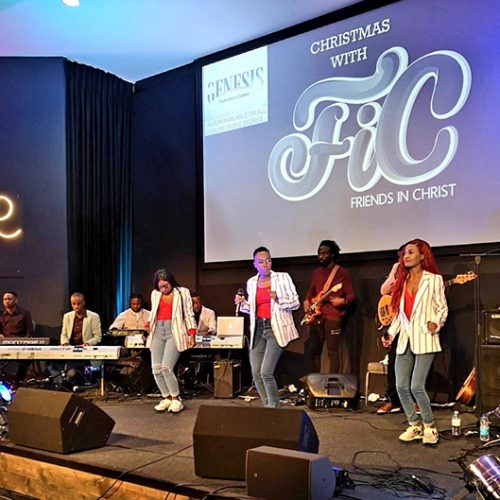 UK gospel group Friends in Christ pull-off Christmas celebration despite low attendance