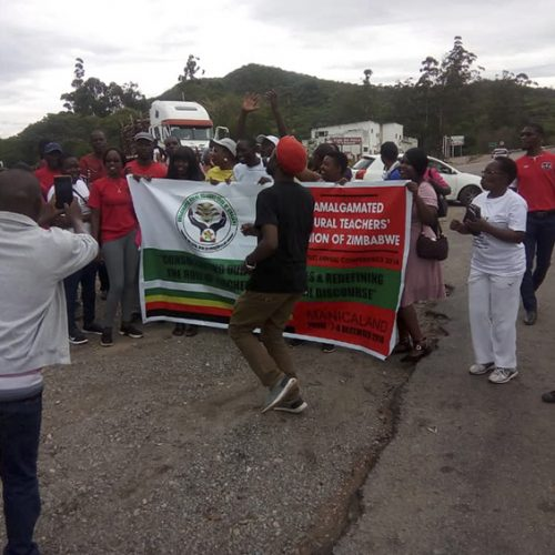 Cops arrest teachers marching 275 km to Hre from Mutare; defiant union vows to continue protest