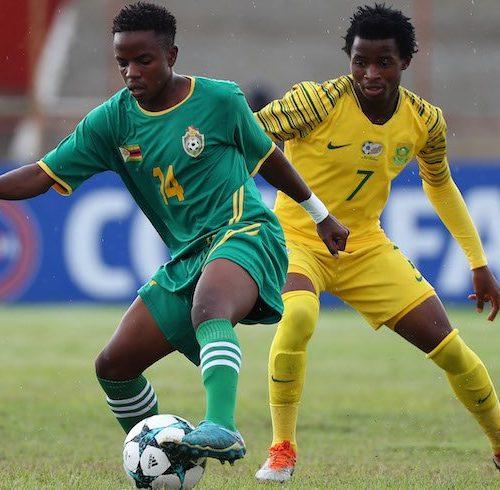 Zimbabwe lose to South Africa on penalties in COSAFA U20 final