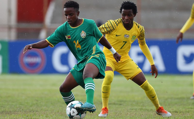 Zimbabwe lose to South Africa on penalties in COSAFA U20 final