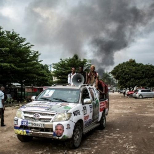 DR Congo poll: Blaze hits electoral depot as tense vote nears