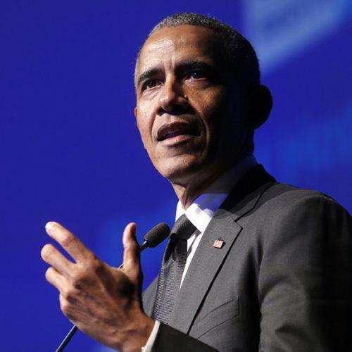 Barack Obama receives RFK Human Rights award at NYC gala