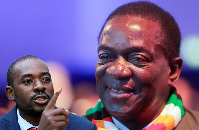 Mnangagwa: Why does Chamisa want to talk to an illegitimate president