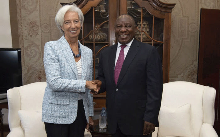 South Africa does not seek IMF support – Lagarde