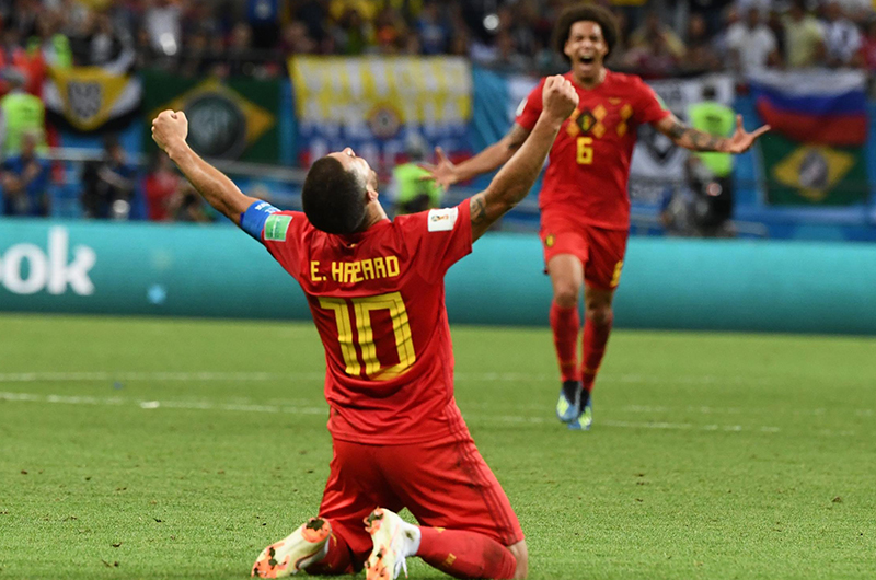 Belgium edges France to end 2018 on top of FIFA rankings