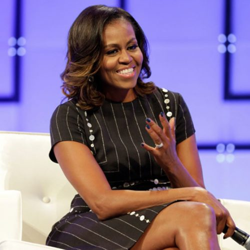 Obama says designer's energy informed her fashion choices