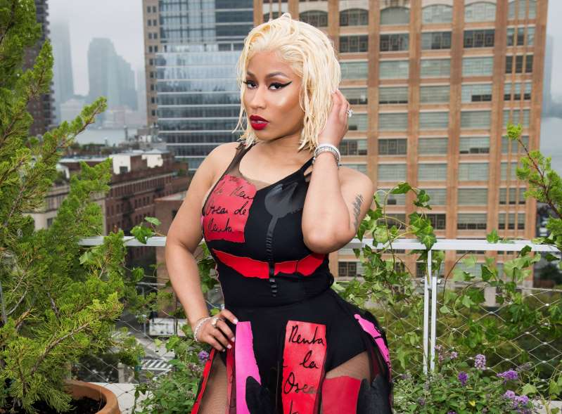 Nicki Minaj's new man gets her name tattooed on his neck