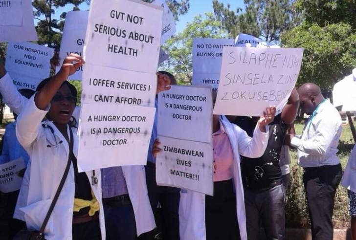 Zim doctors bemoan split, blast govt for causing division