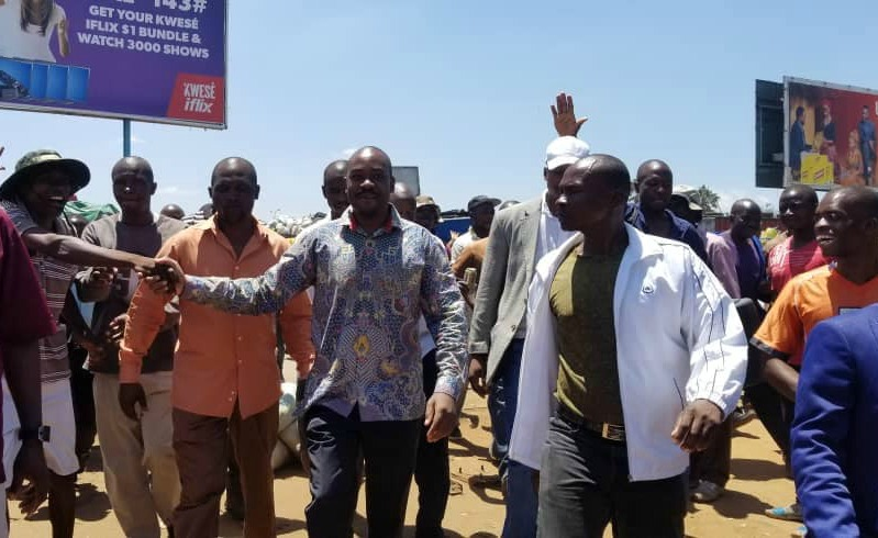 Surprise Chamisa visit to Mbare Musika brings business to standstill