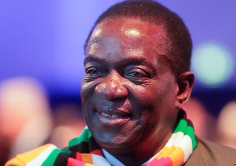 ED sees bright 2019 for Zimbabwe as turbulent 2018 concludes