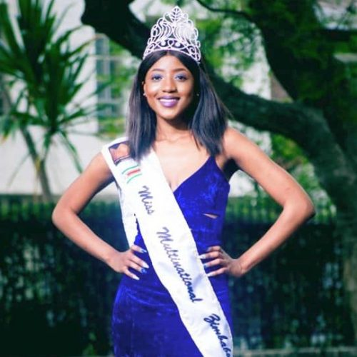 Brains and beauty queen's advice to fellow models