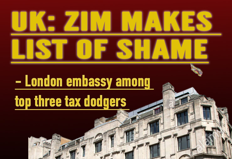 UK: Zimbabwe embassy shamed for dodging tax; owes US$129,000