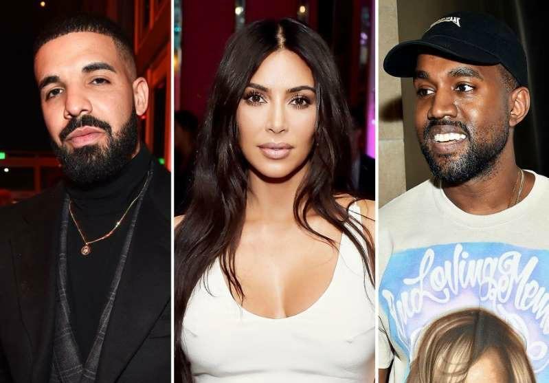 Drake unfollows Kim Kardashian after Kanye West calls him out