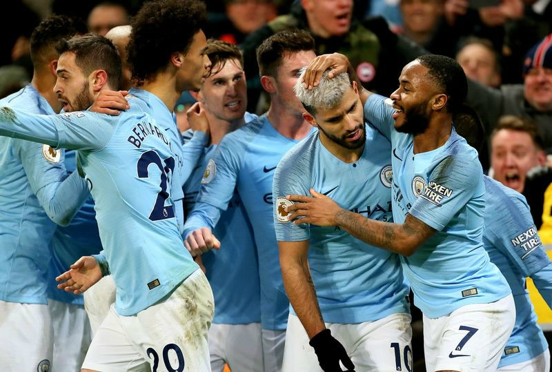 Man City puts up gallant show to end Liverpool's unbeaten run