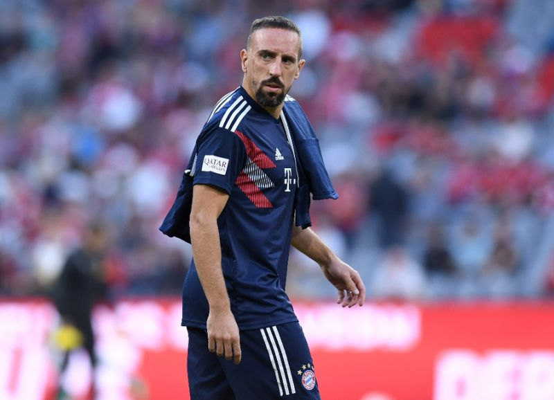 "Bayern Munich hand Ribery ""heavy fine"" for Tweetstorm"