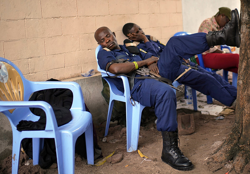 DRC on edge as election results postponed