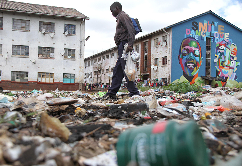 Harare introduces waste separation system to counter littering