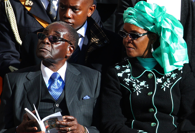 Robert and Grace Mugabe's US$1 billion fortune