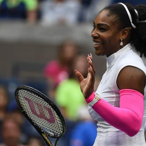 Serena Williams back with yet another incredible tennis outfit