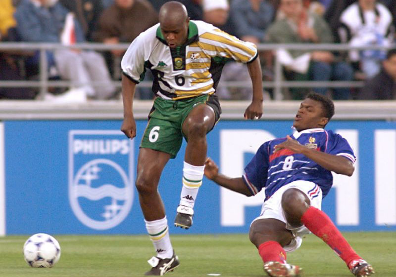 South African football 'giant' Masinga dies