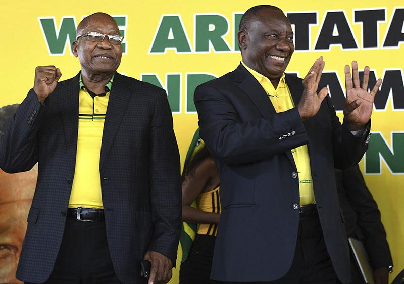 SA: Disgraced Zuma making a comeback