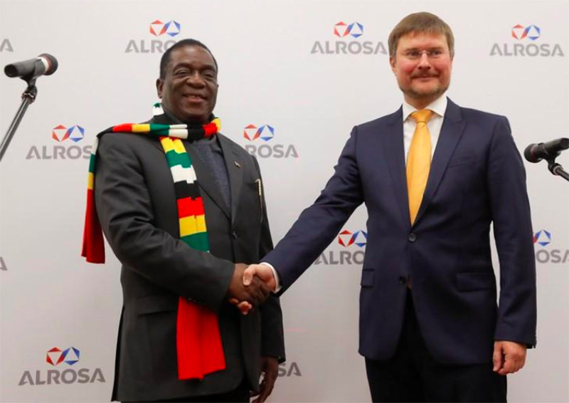 ED boost as Russian diamond giant returns to Zim two years after quitting