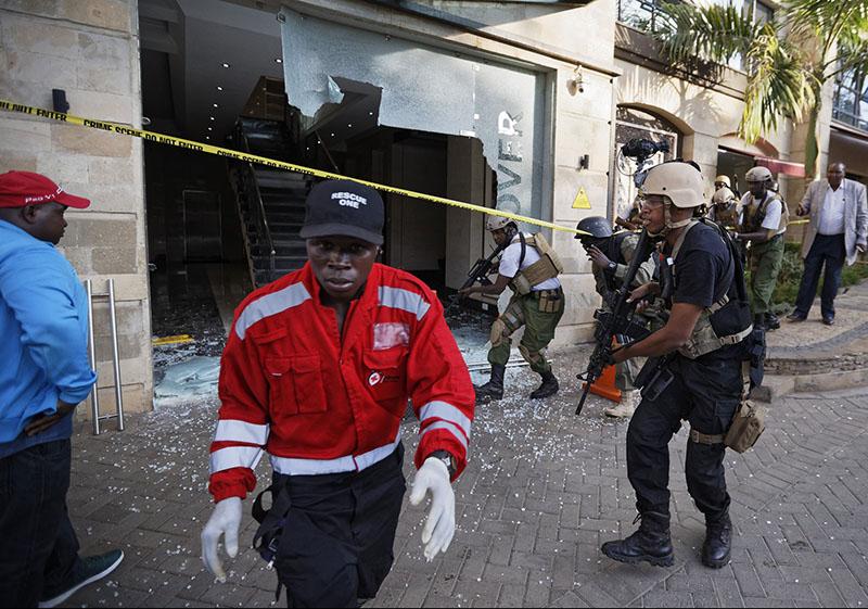 KENYA: Extremists in deadly attach on upmarket Nairobi hotel