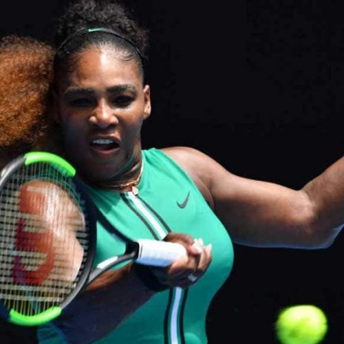 TENNIS: Ominous Serena, Djokovic make Open statements