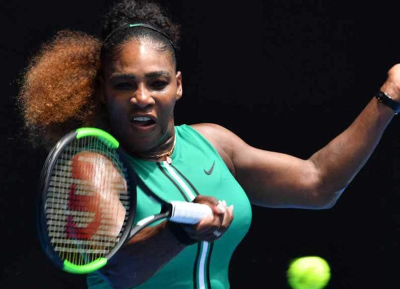 TENNIS: Ominous Serena, Djokovic make Open statements