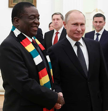 Russia's Heroes Day message breath of fresh air to under-siege Zim govt