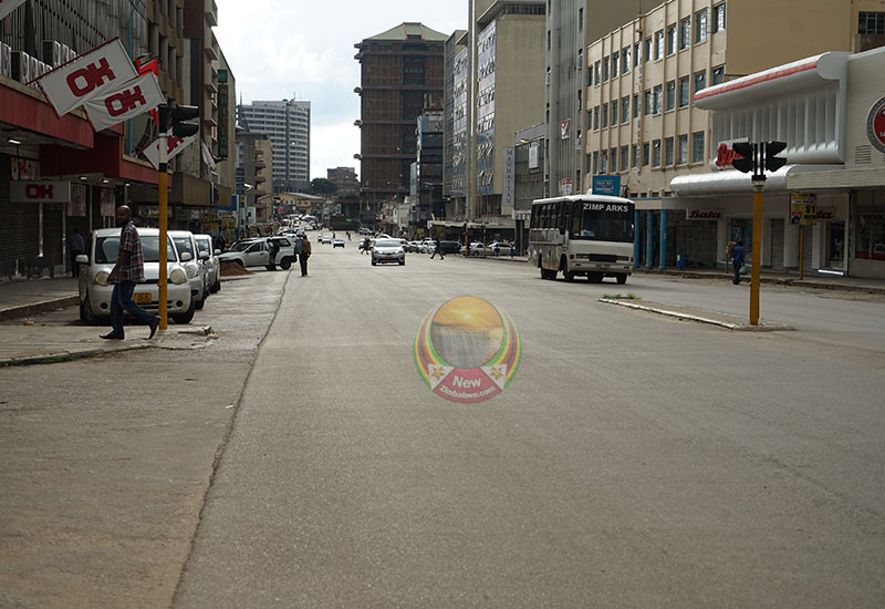 Low business in Harare as most shops fail to open on Thursday (more images)