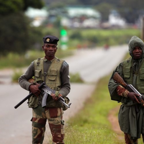 Soldiers in court for armed robbery