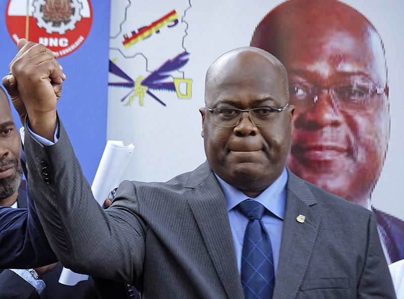 DRC's Constitutional Court upholds election results; declares Tshisekedi elected president