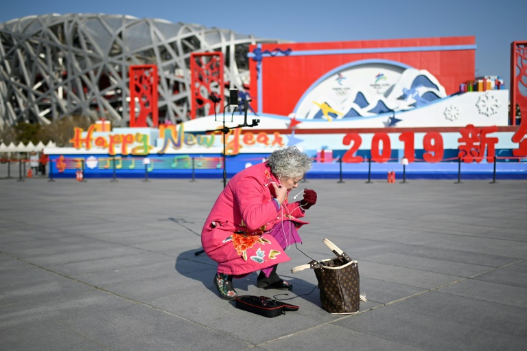 Chinese elderly jump on live streaming bandwagon