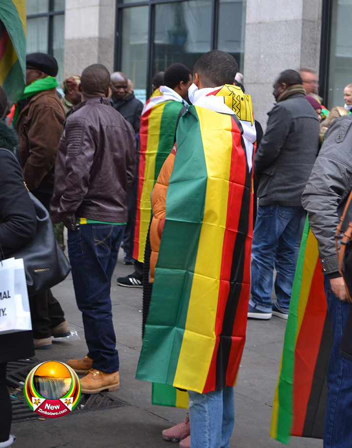 Zim exiles stage demonstrations in Botswana and South Africa
