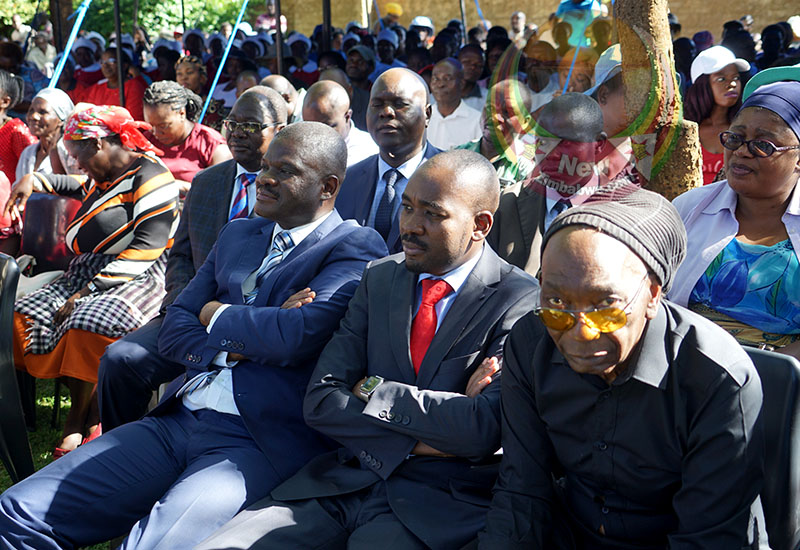 PICTURES: MDC and Zanu PF politicians troop to Tuku's Norton home