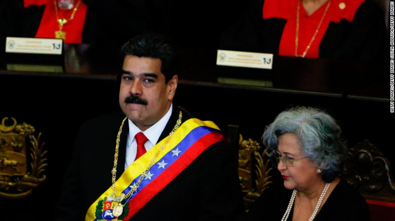 President Maduro raises the stakes, closing Venezuelan offices in the US