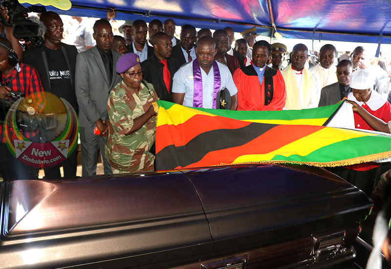 A Hero's send-off: Tuku burial in pictures