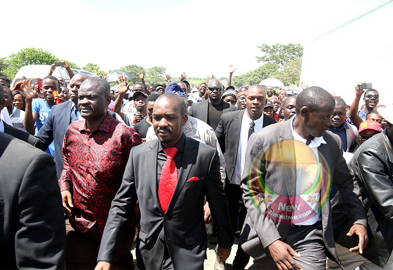 LATEST: Chamisa Vows To Lead Mass Protests Against Mnangagwa