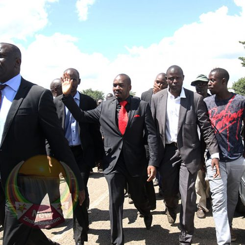 Soldiers, police block Chamisa from visiting cyclone hit areas