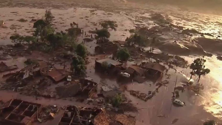 Death toll rises to 58 in Brazil dam collapse as firefighters search through mud
